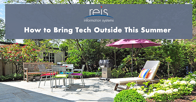 bring tech outside